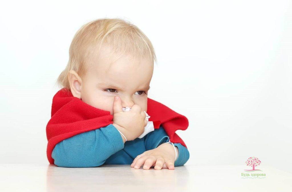 Психосоматический насморк у ребенка