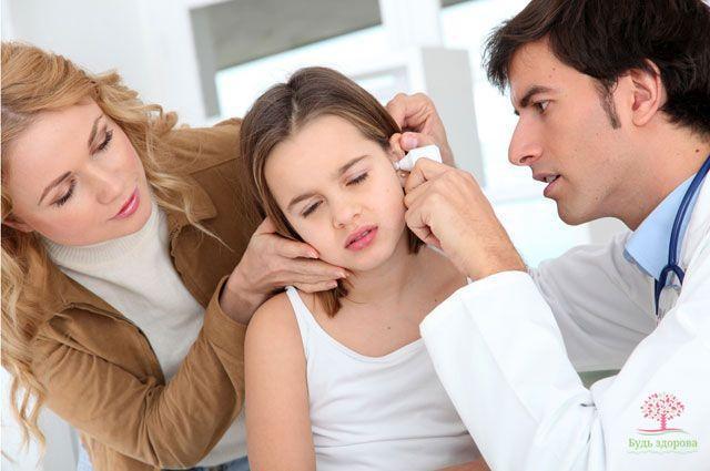 заболевания в ухе у ребенка